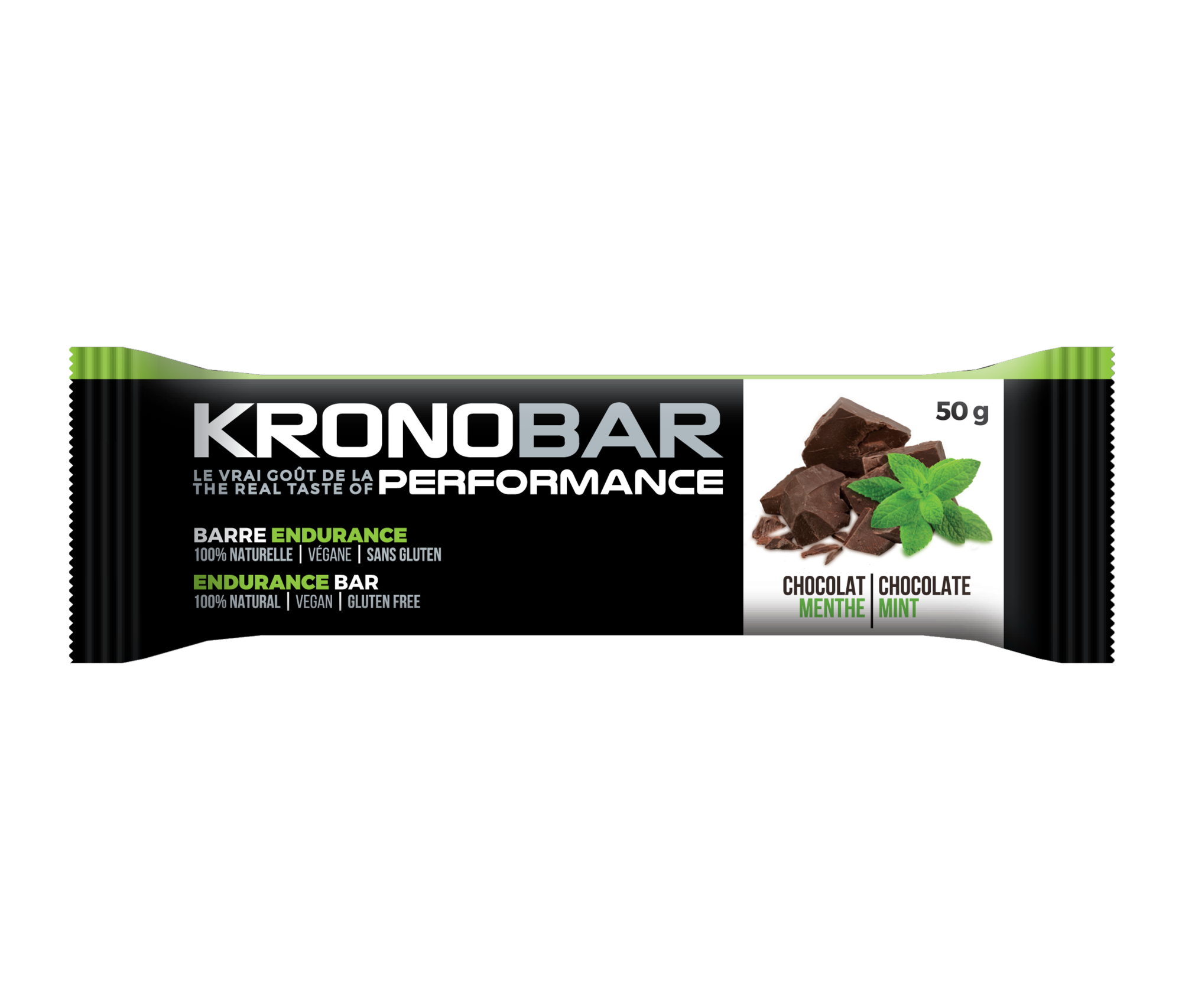 Kronobar Endurance Bar Choco/Mint 50g