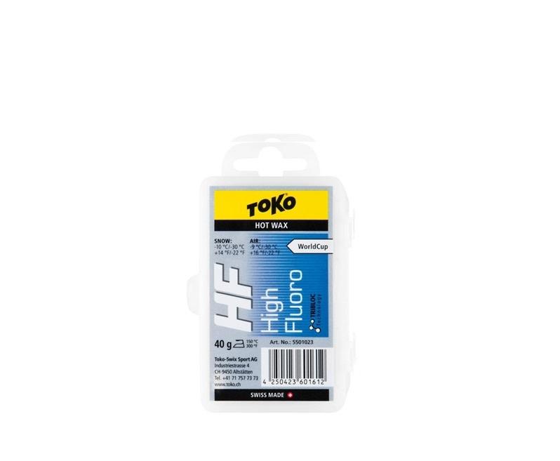 Fart de glisse Toko HF Bleu 40g