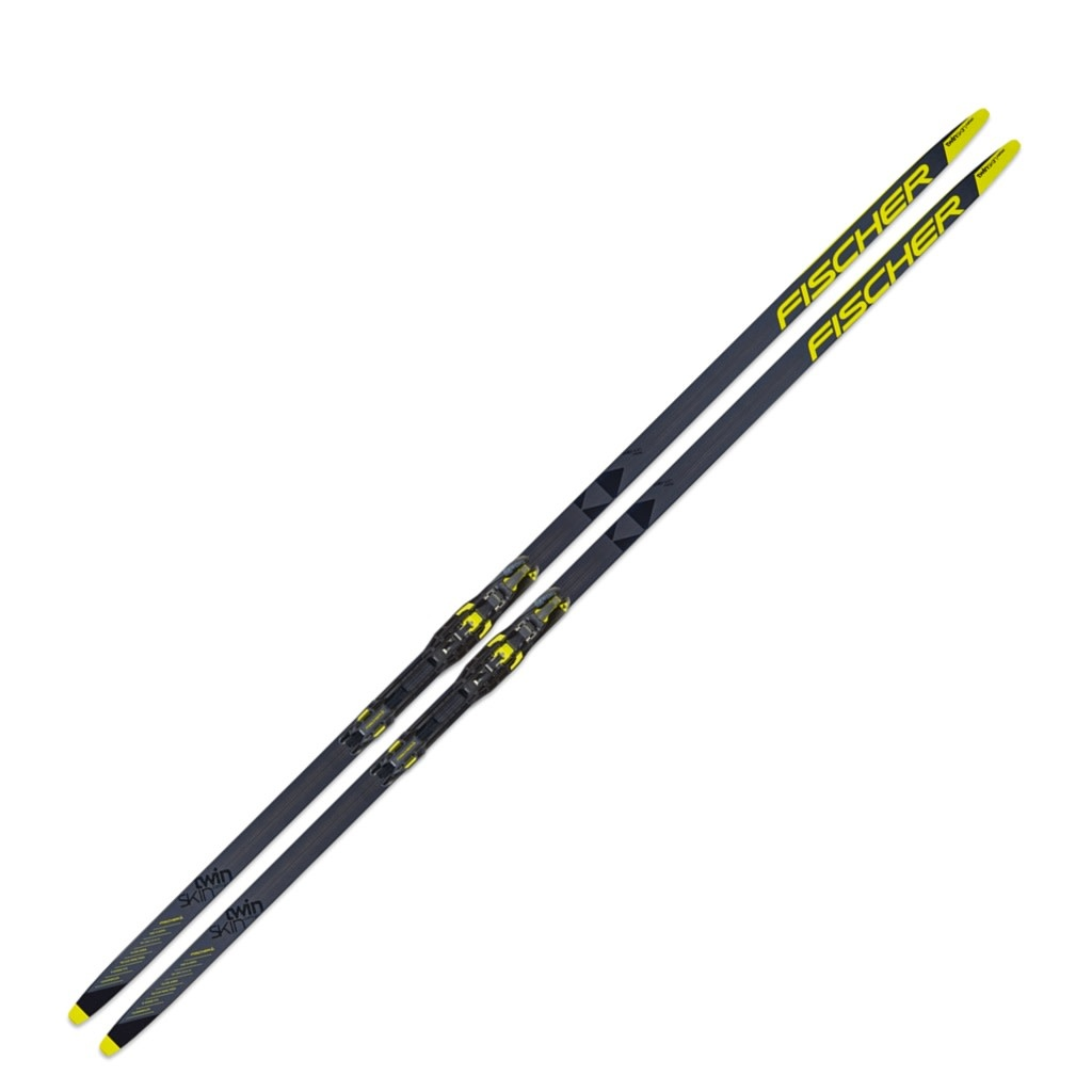 Fischer Twin Skin Carbon Skis IFP 2020