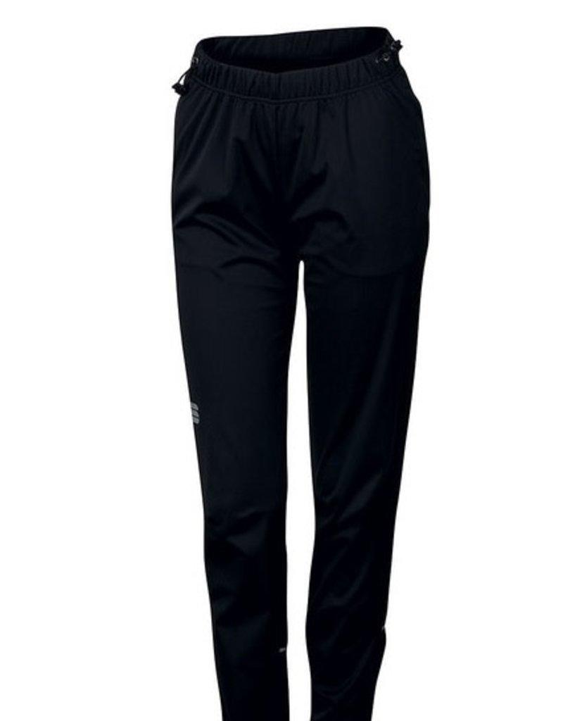 Pantalon Sportful Engadin Wind Femme Noir