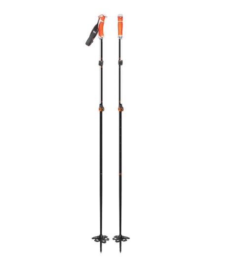 G3 VIA Carbon Poles White/Orange