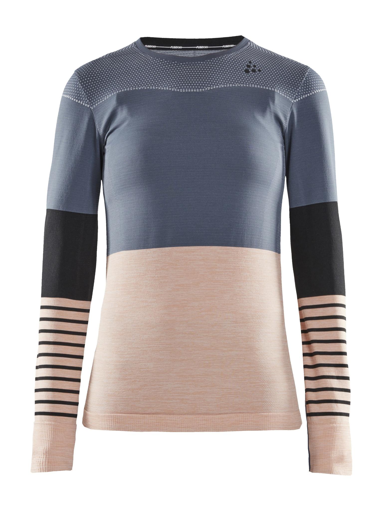 Craft Fuseknit Comfort Blocked Women Shirt