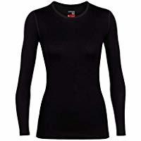 Icebreaker Zone LS Crewe Shirt Women Small