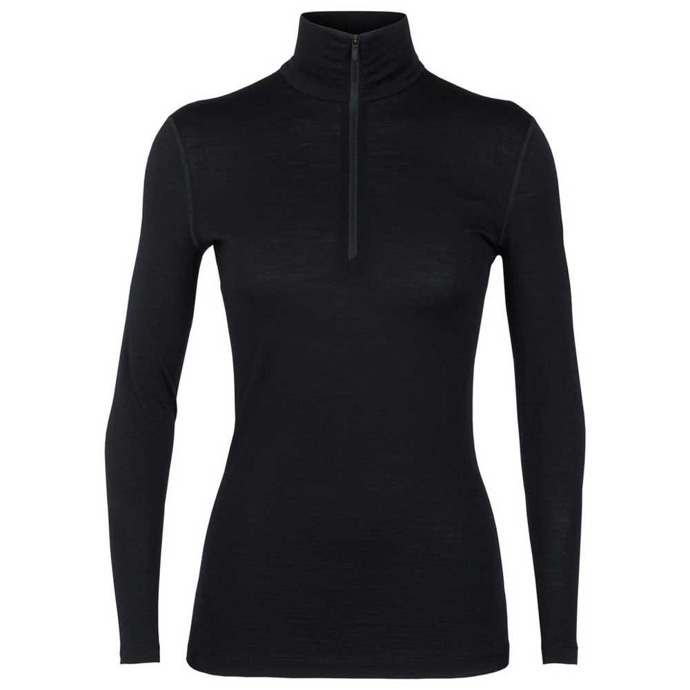 Icebreaker Pace LS Zip Shirt Femme Xlarge