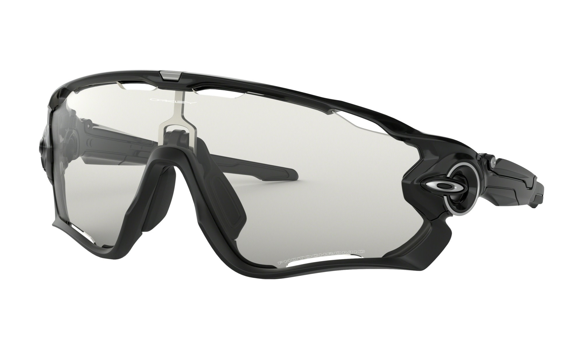 Lunette Oakley Jawbreaker Noir/Clear Black Iridium Photochromic