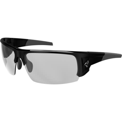Lunette Ryders CaliberNoir/Lentille Photo Grise 75%-26%