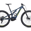 Vélo usagé Specialized Turbo Levo Comp 29 2019 Bleu/vert Medium