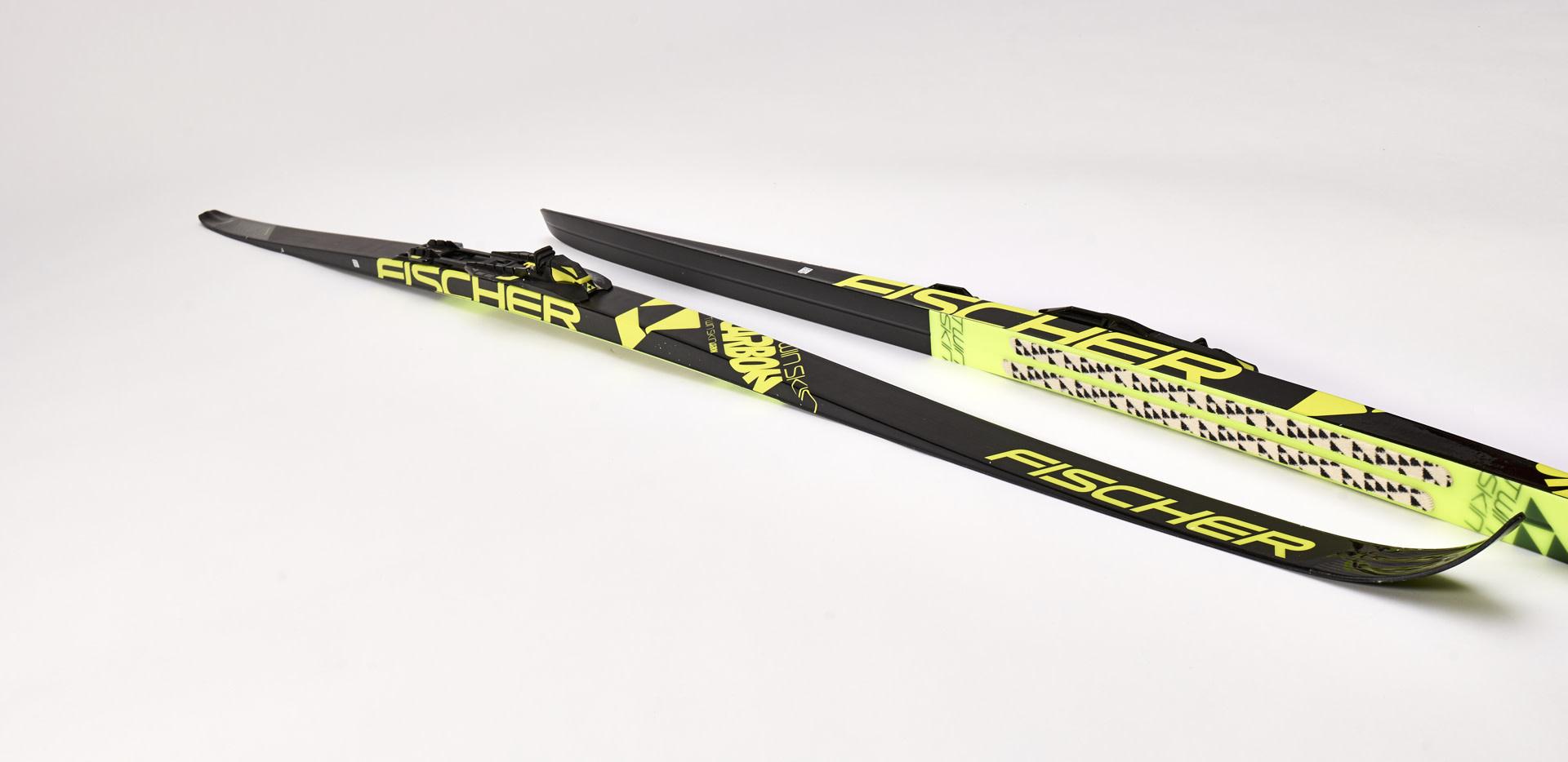 Skis Fischer Twin Skin Carbon IFP 2019