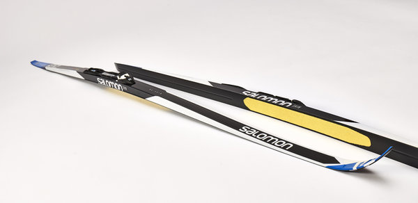 Skis Salomon RC Skin 2017 + fixation propulse carbone