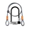 Cadenas Kryptonite Kryptolok Mini-7+Flex Cable 4' Noir
