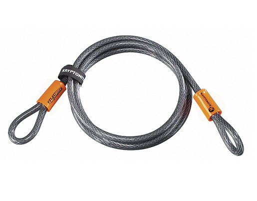 Cable flexible Kryptonite Kryptoflex 1007 (220cm x 10mm)