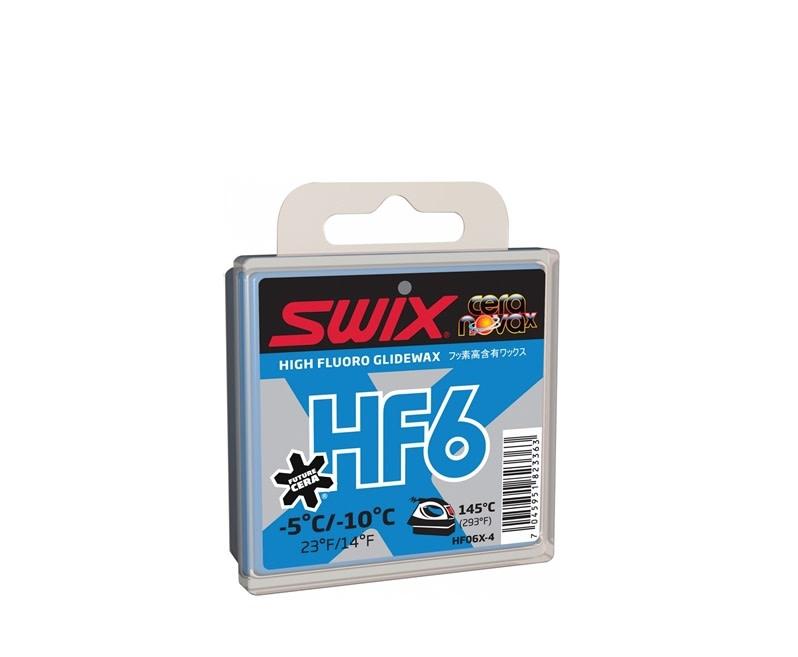 Fart de glisse Swix HF6X Bleu -5c/-10c 40g