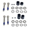 Avid Post 20S Spacers Front 180mm/ Rear 160mm Stainless Hardware