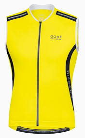 Men's Gore Bike Wear Air Tank Top Large Yellow
