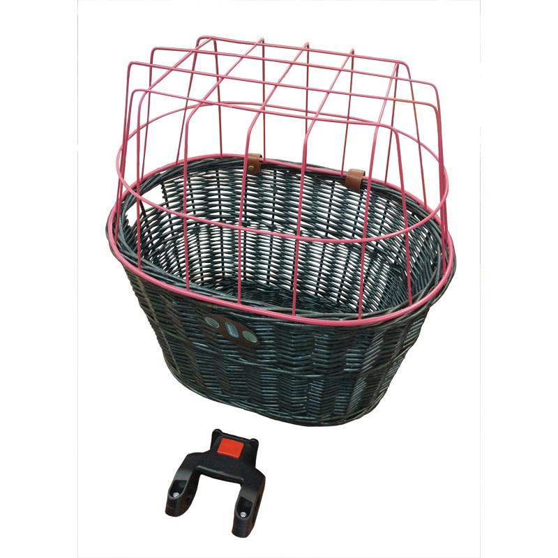 Damco Front Basket Wicker 3QR
