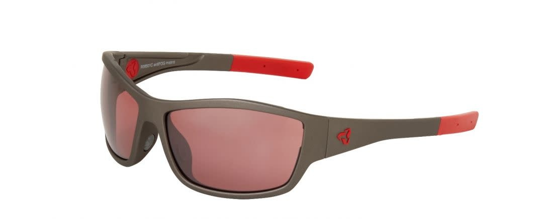 BOWERY POLY GUNMETAL-RED / ROSE LENS RED MR ANTI-FOG