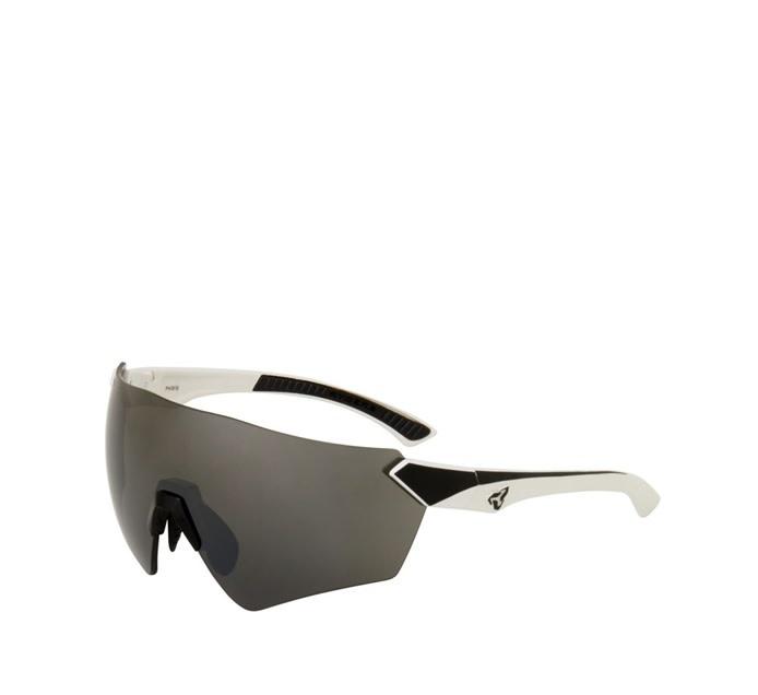 Lunette Ryders Main Blanc-Noir/Lentille Grise Anti-Buée