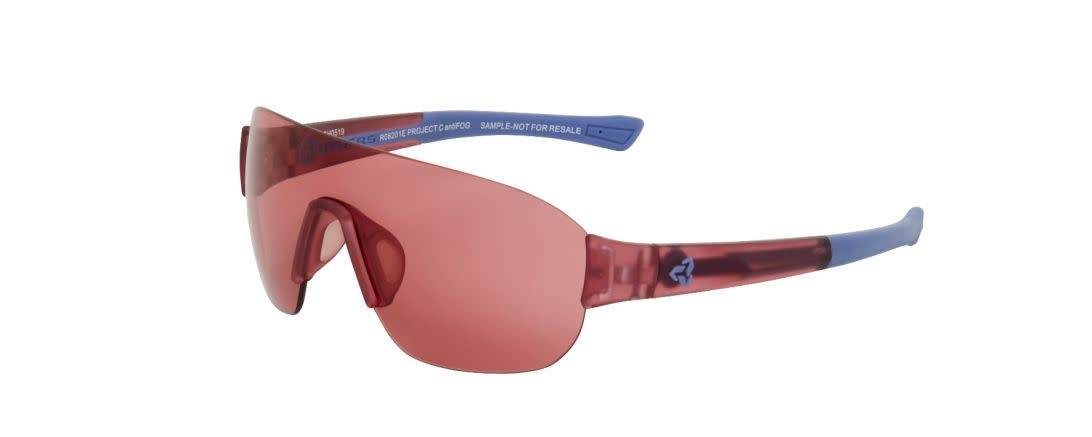 Lunette Ryders Grafton Xtal Rose-Bleu/Lentille Rose Anti-Buée