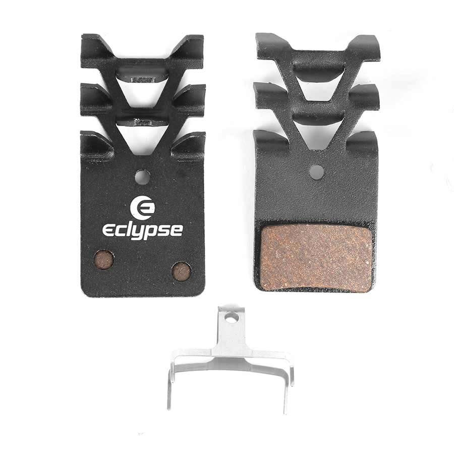 Patin de frein Eclypse Blackout Race Pro Cool Disque  Oranic semi-metal