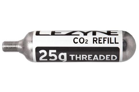 Cartouche de CO2 Lezyne Fileté 25g