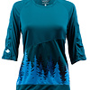 Craft Wild Places Woman 3/4 Jersey Blue/Trees