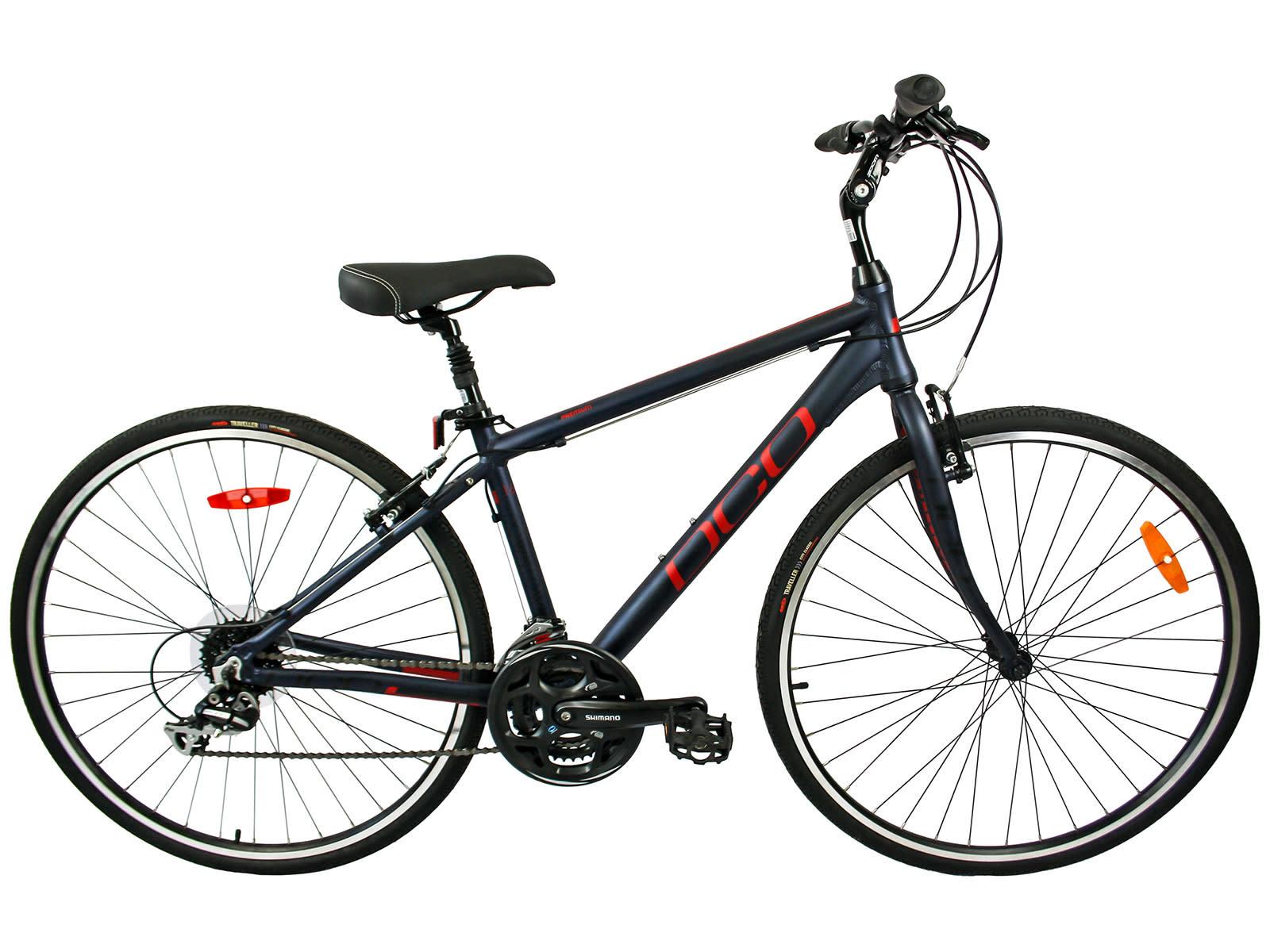 DCO Downtown 702 Bike 2019 Indigo/Red