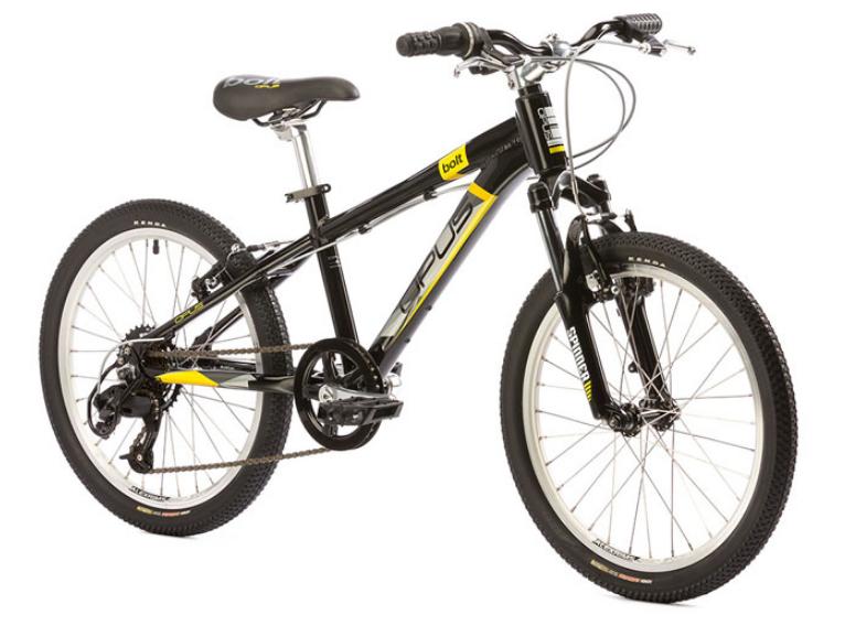 Opus Bolt Lightning JR 20'' Bike Black