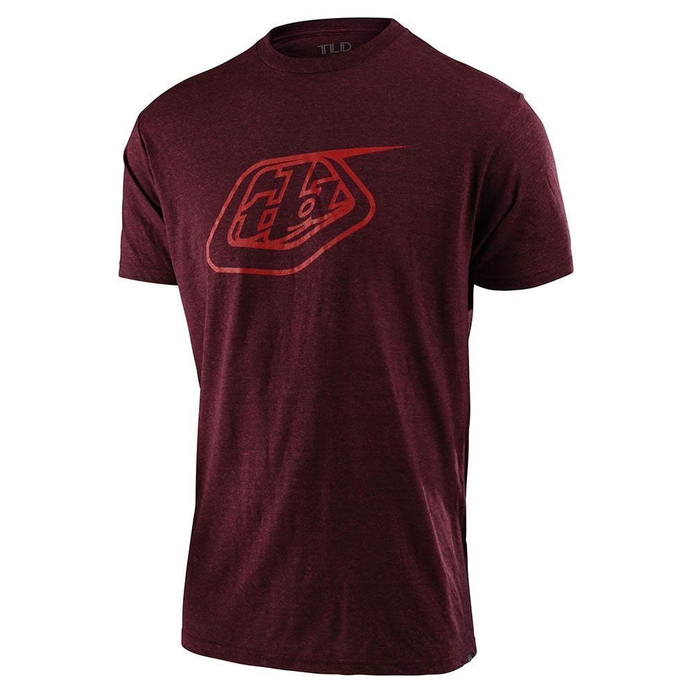 Troy Lee Designs Logo Short Sleeve Tee Sangria