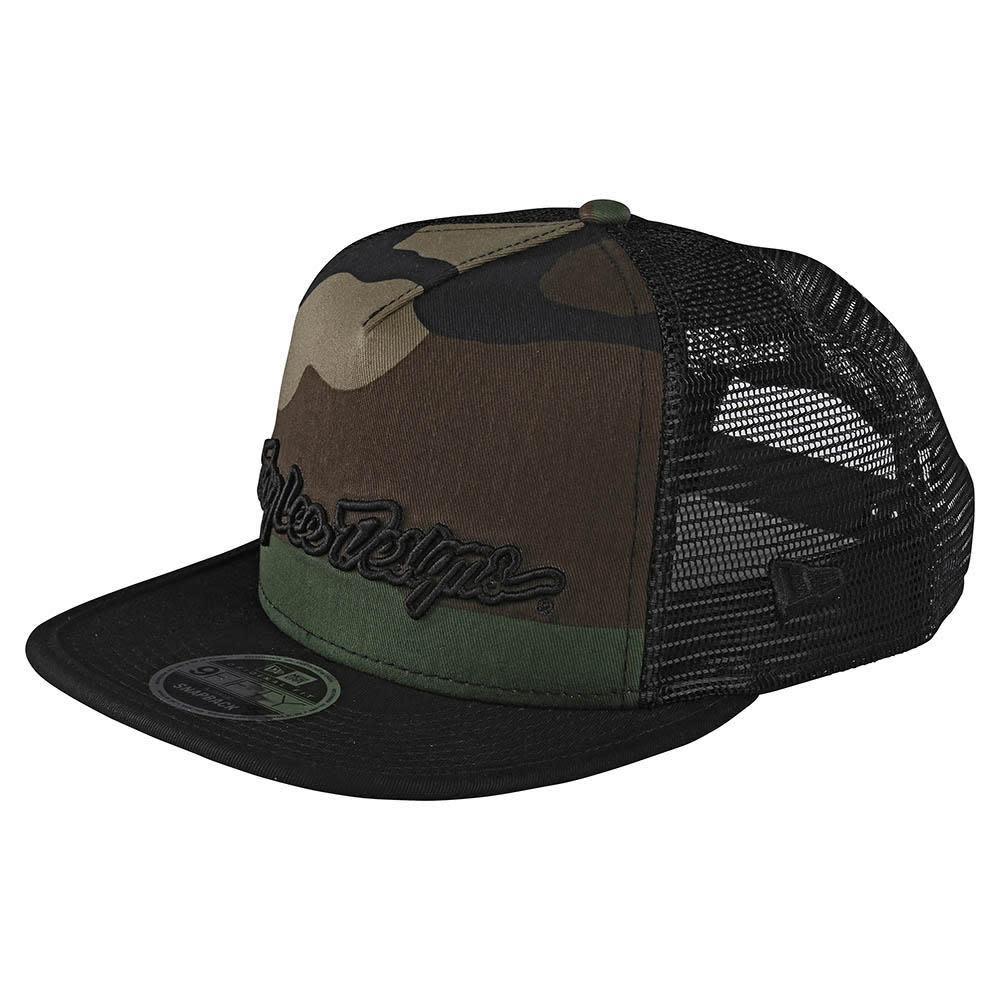 Troy Lee Designs Signature Snapback Cap Camo