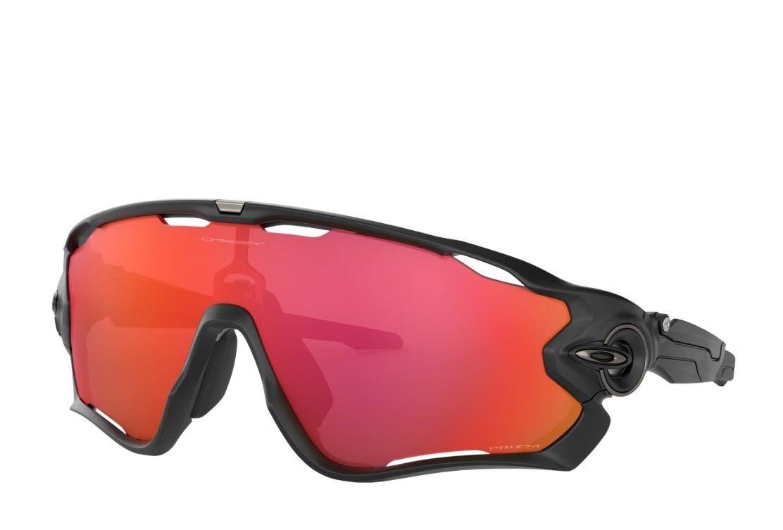 Oakley Jawbreaker Matt Black/Prizm Trail Torch Eyewear