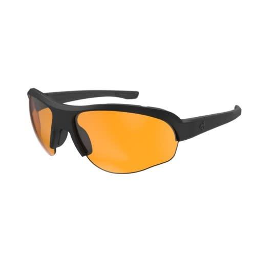 Lunette Ryders Flume Noir Mat/ Lentille Orange