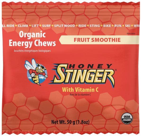 Jujubes Honey Stinger Organic Energy Chews Fruit Smoothie
