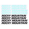 Ensemble de décal Rocky Mountain Wordmark