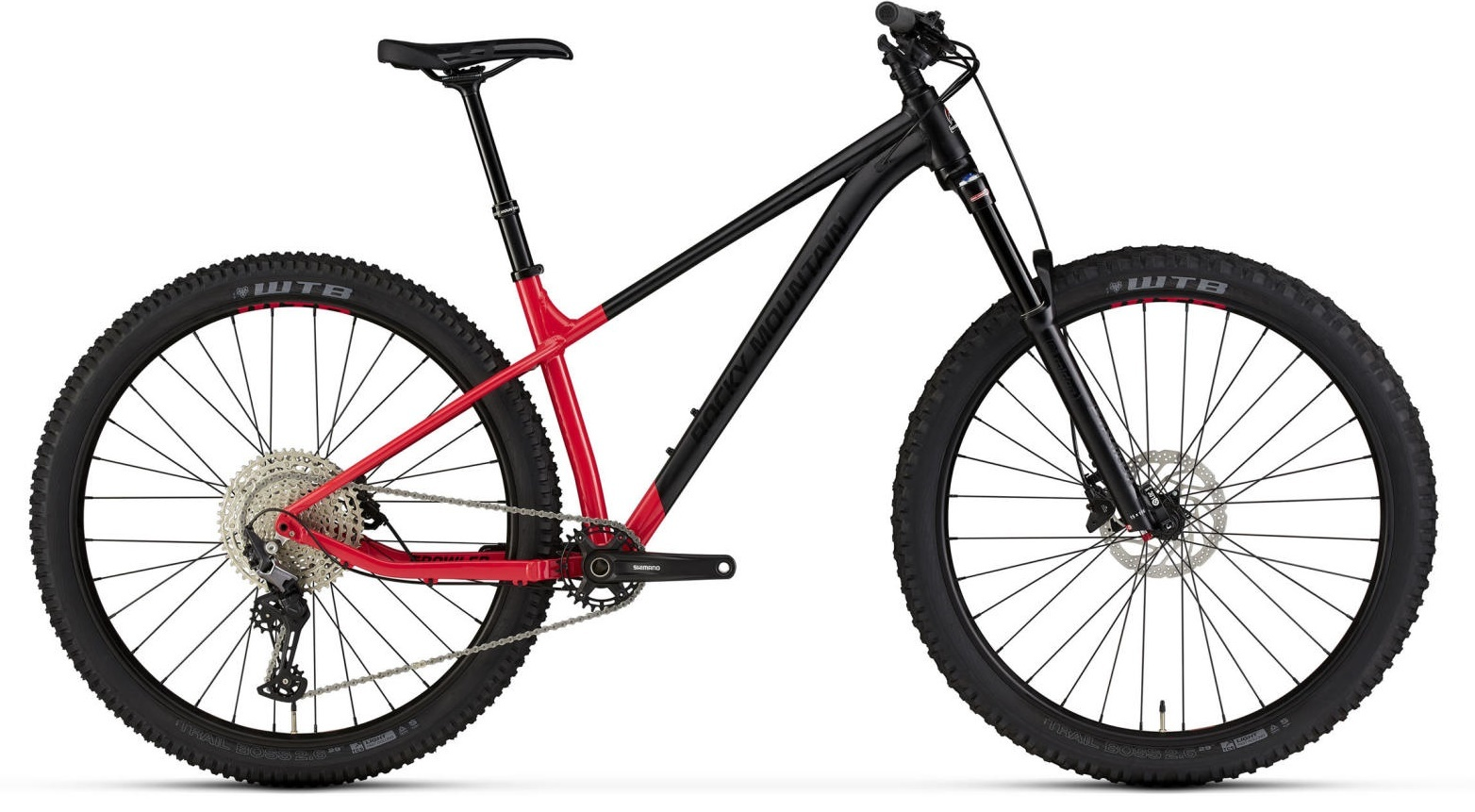 Rocky Mountain Growler 40 Bike 2021 Red/Black