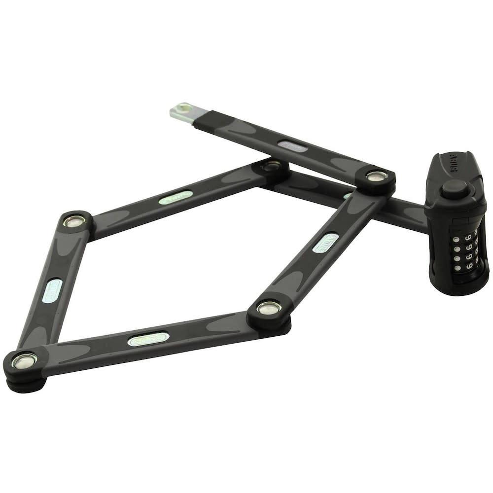 Cadena Abus Bordo 6100 pliable combinaiison 90cm (3') Fixation noir