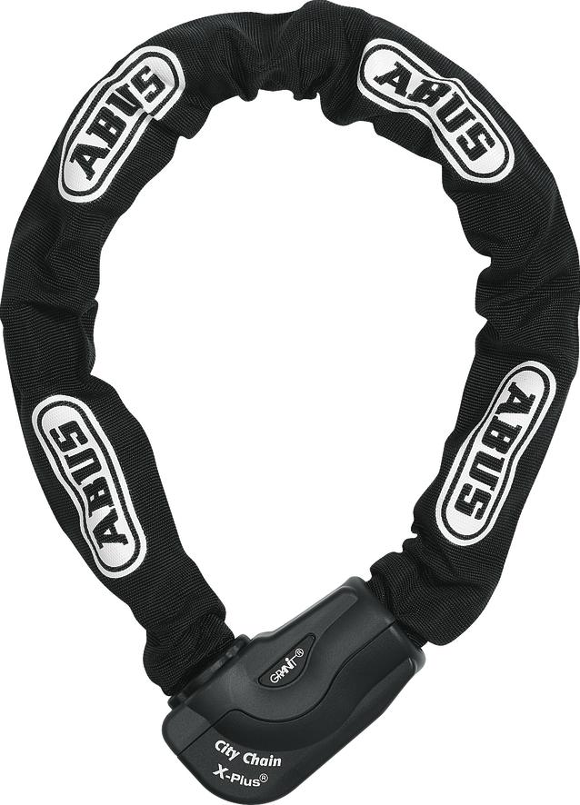 Cadena à chaine Abus, Granit City Chain X-Plus clé 10mm/110cm