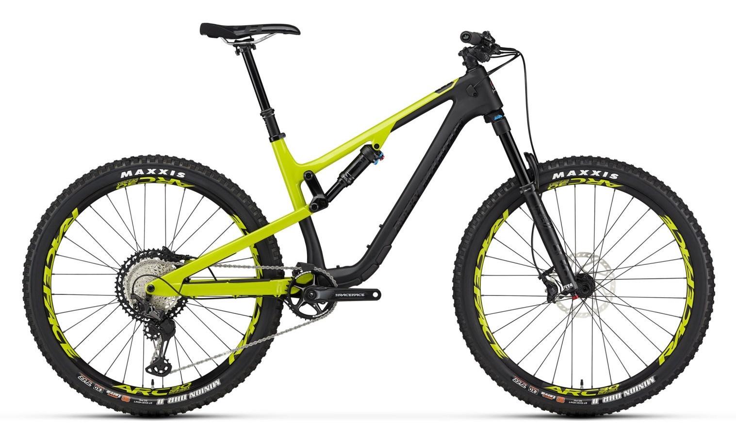 Vélo Rocky Mountain Thunderbolt C70 2020 Noir/Vert
