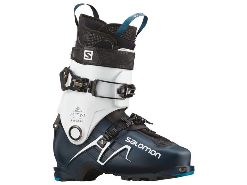 Salomon MTN Explore Alpine Boots Petrol Blue/White/Black