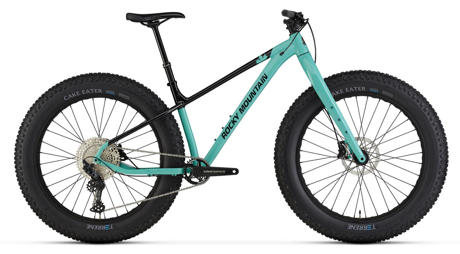 Rocky Mountain Blizzard 30 Fatbike 2021 Turquoise/Black
