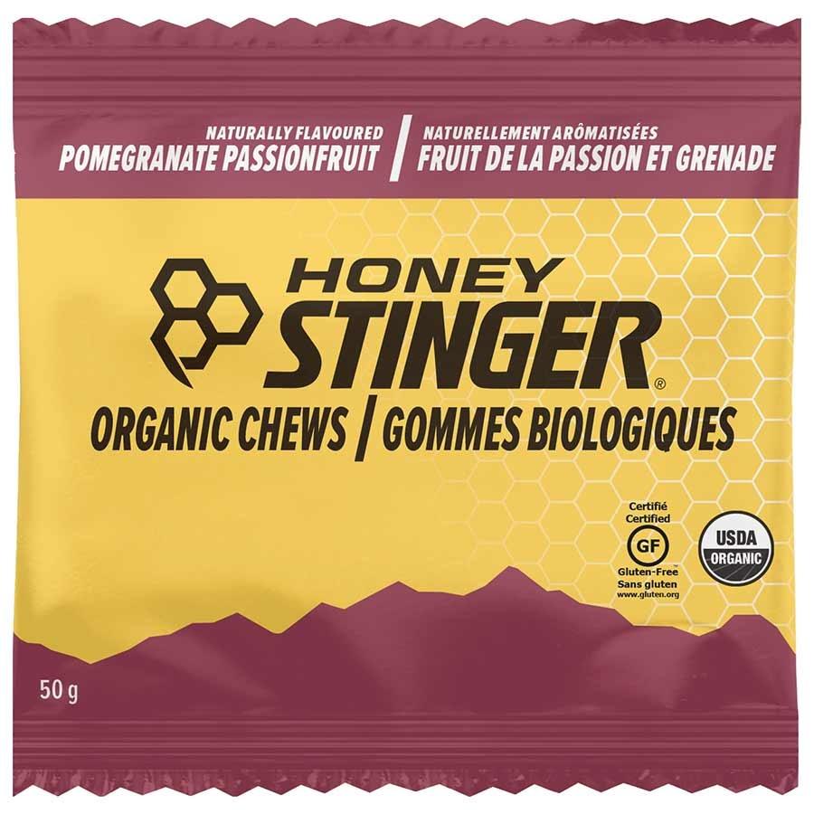 Jujubes énergétiques Honey Stinger Organique Fruit de la passion/Grenade