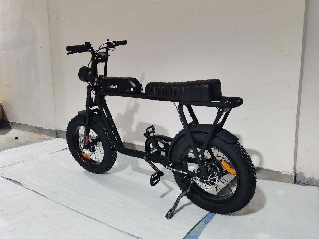 Pepper Bike Ancho 500w Electric Bike Black