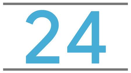 24 pouces