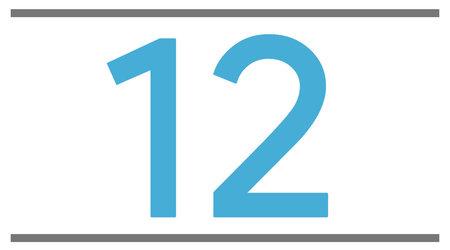 12 pouces