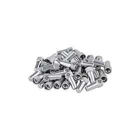 Capuchons de valve Muc-Off 40pcs Argent