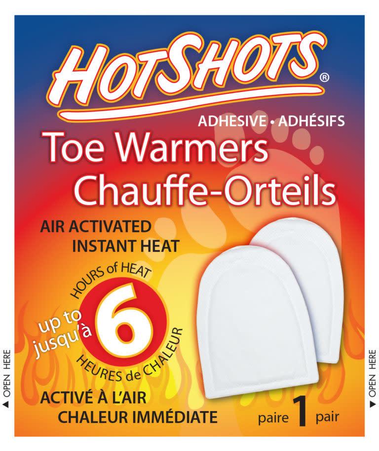Chauffe-orteils HotShots avec adhésifs (paire)