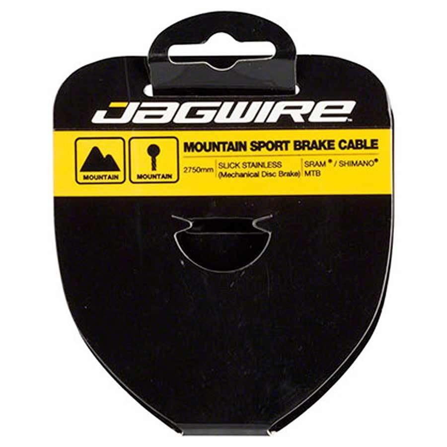 Cable de frein Jagwire, Slick, VTT, Inox, 3500mm (tandem)