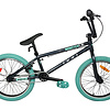 DCO Monster Bmx Charcoal/Turquoise 20''