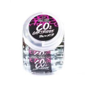 Cartouche Co2 Muc-Off 25g Avec filets 25pcs