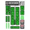 Autocollants RockShox 35mm 2018 Vert