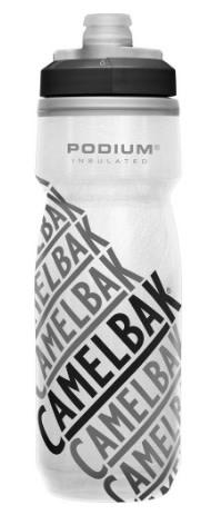 Bidon Camelbak Podium Chill 620ml Race Edition Blanc/Noir